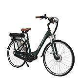 AsVIVA E-Bike Damen Hollandrad 28', Tiefeinsteiger (13Ah Akku), 7 Gang Shimano Schaltung,...