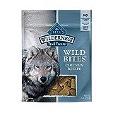 Blue Buffalo Wilderness Trail Treats Wild Bites High Protein Grain Free Soft-Moist Dog Treats, Chicken 4-oz bag