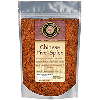 Spice Appeal Chinese Five Spice in resealable stay fresh pouch 4 oz