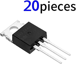 Bridgold 20pcs IRFZ44N IRFZ44 N-Channel MOSFET Transistor, International Rectifier Power 49 A 55 V,3-Pin