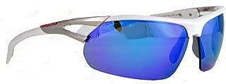 Rawlings 28 SPT Unisex Adult Sport Sunglasses Shades Wrap Blue Mirror 10220224