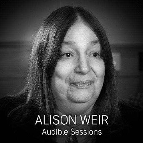Alison Weir audiobook cover art