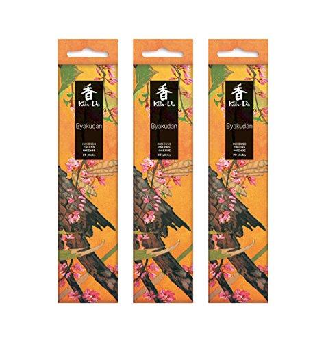 Tierra Zen Set Lot de 3 Koh Do Byakudan (encens Santal Blanc), Taille Unique