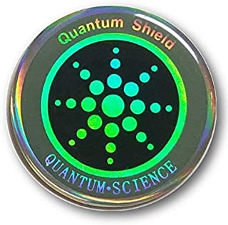 Anti Radiation Quantum Shield Sticker EMF Blocker Neutralize Protection from Cell Phones and Electronic Devices WiFi 5G (1piece)