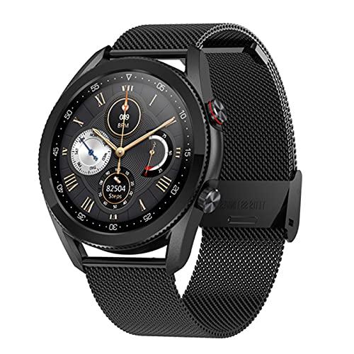 zyz L19 Smart Watch Call Bluetooth, IP68 Impermeable, Rastreador De Fitness, Monitoreo De Ritmos Cardíaca, Relojes Deportivos para Hombres Y Mujeres,D