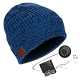 Unisex Beanie Cap Bluetooth 5.0 Music Hats Winter Knitted Skiing Hat USB Rechargeable