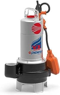VORTEX Submersible Pump for Sewage Water VXm 15/50-N 10M 1,5Hp 240V Pedrollo