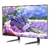 RFIVER Support TV Pieds Place sur Meuble Télé Elévateur Hauteur Adjustable pour LCD LED OLED ALED...