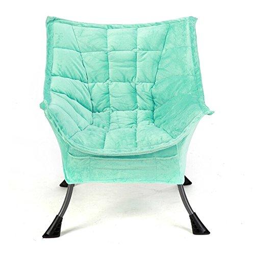 Chaise canapé-lit chaise salon chambre balcon mini chaise longue décontractée chaise amovible en tissu lavable en tissu