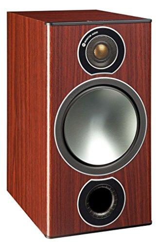 Monitor Audio Bronze 2 Regallautsprecher, Farbe: Rosenholz, 1 Paar