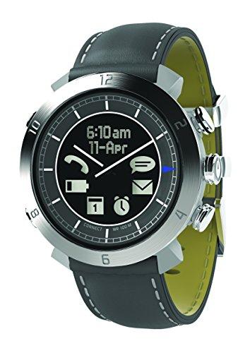 COGITO Classic Smartwatch, Pelle, Argento