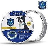 Collar HJ&WL para pulgas y garrapatas para perros pulgas y garrapatas 8 meses protección...