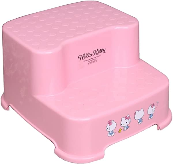 Shabath Hello Kitty Two Step Stool For Girls Pink
