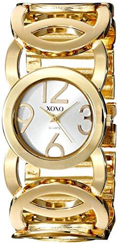 XOXO XO5211 - Reloj dorado con pulsera de eslabones, para mujer