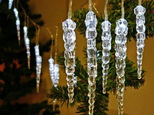 LED Eiszapfen-Lichterkette 20 LEDs