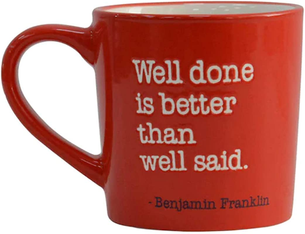 Founding Fathers Famous Quotes Patriotic Coffee Mugs Benjamin Franklin