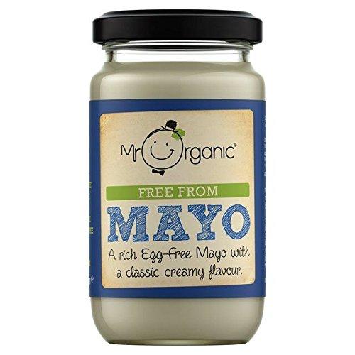 Mr Organic Free From Mayo - 180g (0.4lbs)