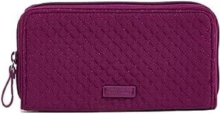 Vera Bradley RFID Georgia Wallet in Gloxinia Purple Microfiber