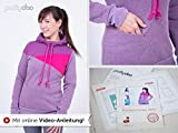 Stoffe Werning Schnittmuster Pattydoo Freestyle Hoodie Nelly
