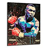 FireDeer Alec Monopoly Boxing Champion Boxer Tyson Sports POP Street Art Canvas Painting Poster Prints Picture For Living Room Wall Decor (No Frame,24x32 inch)