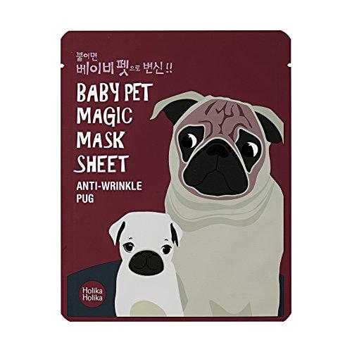 Holika Holika Baby Pet Magic Mask Sheet Pug gesichtsmaske Korean Kosmetik 1pc