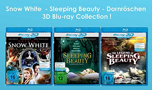 Snow White - The Sleeping Beauty - Dornröschen 3D Blu-ray Collection