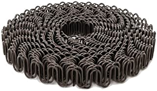 B.C. Upholstery Zig Zag No Sag Furniture Spring (Sinuous Wire) - 8 Gauge / 111' Roll