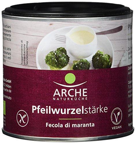 Arche Pfeilwurzelstärke 125 g -Jetzt Bio!- Bio Backzutat, 3er Pack (3 x 125 g)