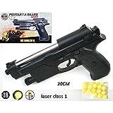 Pistola airsoft bola 6mm- Elite Series 50606- 0.5 Julios- Color negro