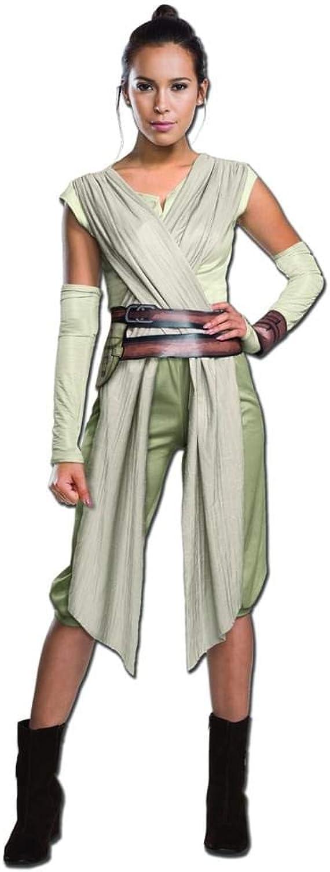 Generique - Rey-Kostüm für Damen - Star Wars VII Deluxe