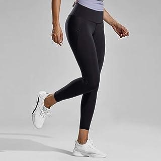 HXLG Women Yoga Pants Fitness Tight Leggings,Yoga Capris Pants,High Waist with Hidden Pocket Capri Capris Pants (Color : Black, Size : L)