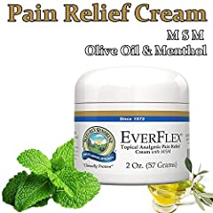 Relieves muscle and joint pain Fast-acting topical pain reliever Enhances joint mobility and flexibility through pain reduction Provides penetrating, fast-acting help Nature's Sunshine EverFlex Pain Cream features the cooling relief of menthol plus a...