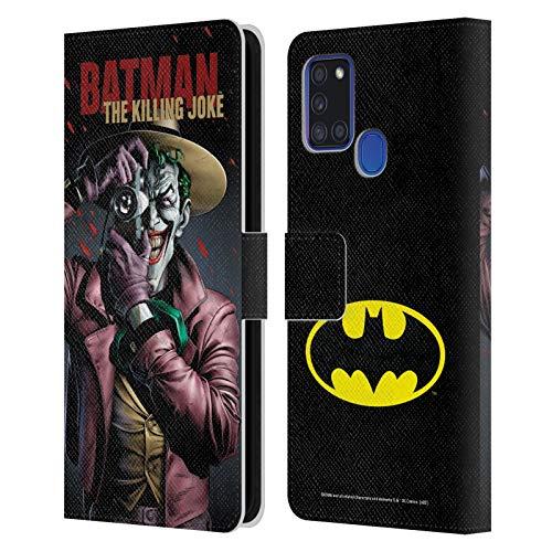 Head Case Designs Licenza Ufficiale Batman DC Comics The Killing Joke Copertine di Libri Comici Famosi Cover in Pelle a Portafoglio Compatibile con Samsung Galaxy A21s (2020)