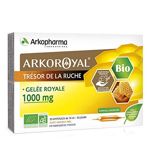 Arkopharma Arkoroyal Gelee Royale Bio 1000 mg 20 Ampullen