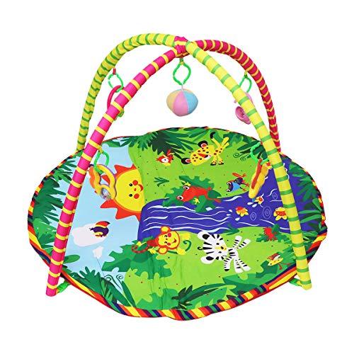 Toyvian Palestrina Neonato Tappeto Gioco Giocattolo per Neonato Bambini (Blu)