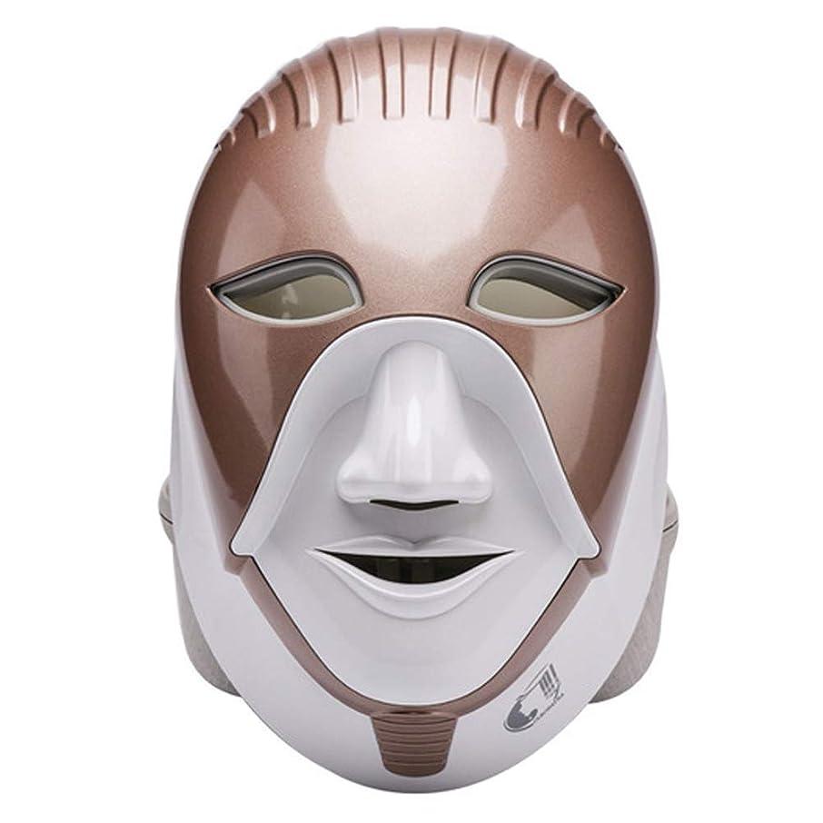 露骨な気怠い条約マスク、光線療法にきびマスク7色光をにきびに適用することができます。スポットにきび、引き締め肌ケアツール