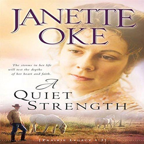 A Quiet Strength audiobook cover art