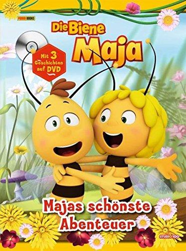 Die Biene Maja: Majas schönste Abenteuer: Sammelband mit DVD (3 TV-Episoden)