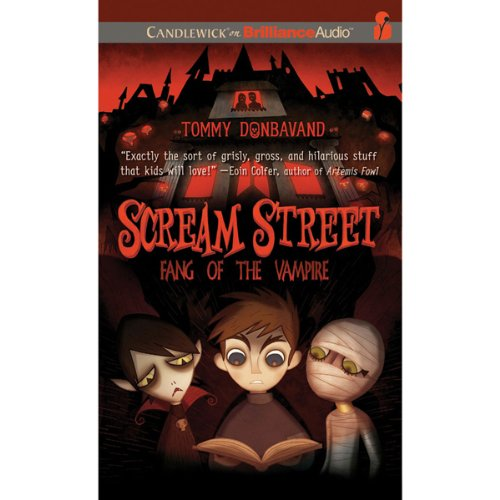 Scream Street audiobook cover art