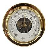 Barigo tempo S ottone barometro 88mm
