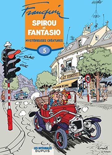 Spirou et Fantasio, l'intégrale tome 5 : Mystérieuses créatures