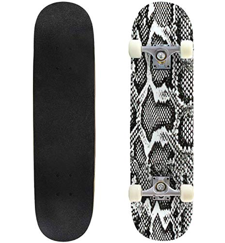 Buy Cheap Classic Concave Skateboard Snake Skin Pattern Texture Repeating Seamless Monochrome Black ...