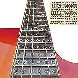 XKSIKjian's Guitar Accessorie, Fretboard Note Decals Fingerboard Frets Map...