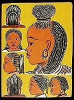 アフリカの理髪店の金属ポスターの壁の飾り額 レトロな家の壁の装飾錫金属ギフト装飾ヴィンテージプラーク