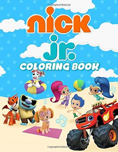 nick jr coloring book - 1