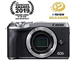 Canon Mirrorless Camera [EOS M6 Mark II](Body) for Vlogging|CMOS (APS-C) Sensor| Dual Pixel CMOS Auto Focus| Wi-Fi |Bluetooth and 4K Video, Silver