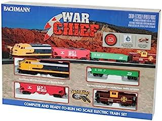 Bachmann Trains Santa Fe Chief Ready to Run HO Scale Electric Train Set