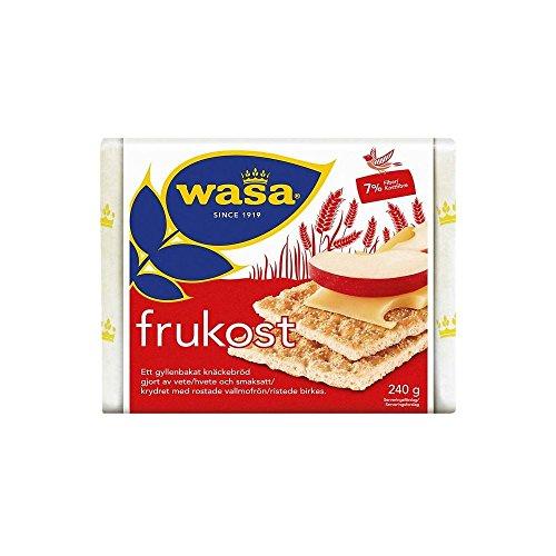 Wasa Pan Crujiente De Trigo Frukost Con Semillas De Amapola (240g)