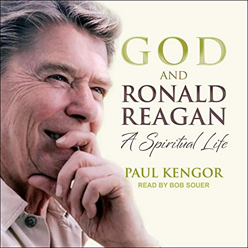 God and Ronald Reagan audiobook cover art