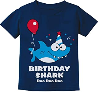 shark first birthday shirt